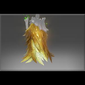 Golden Ornithomancer Mantle of the Benefactor dota 2