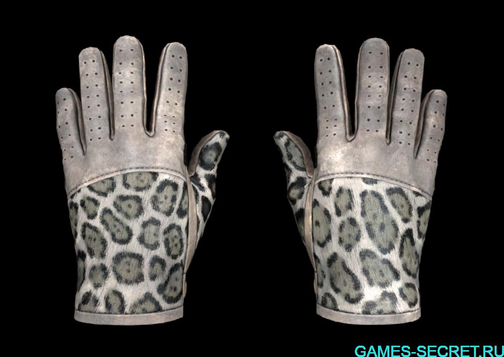 Driver Gloves | Snow LeopardCS:GO