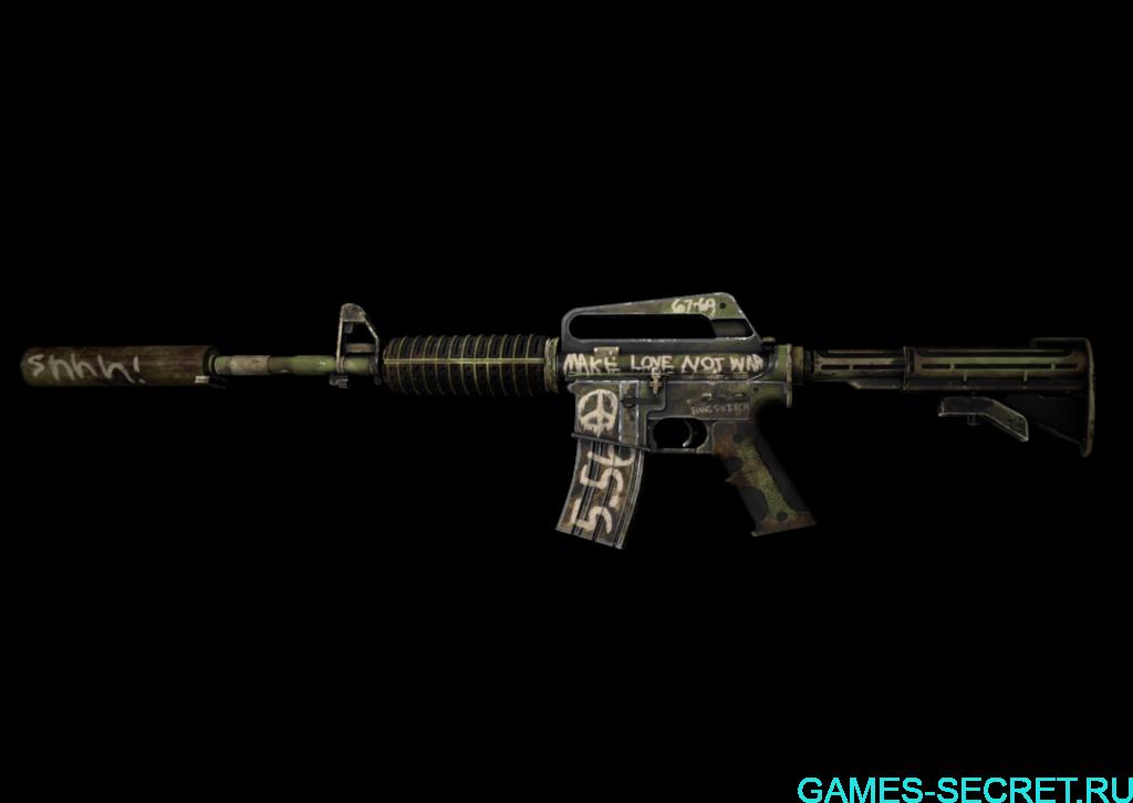 M4A1-S   Взгляд в прошлое кс го