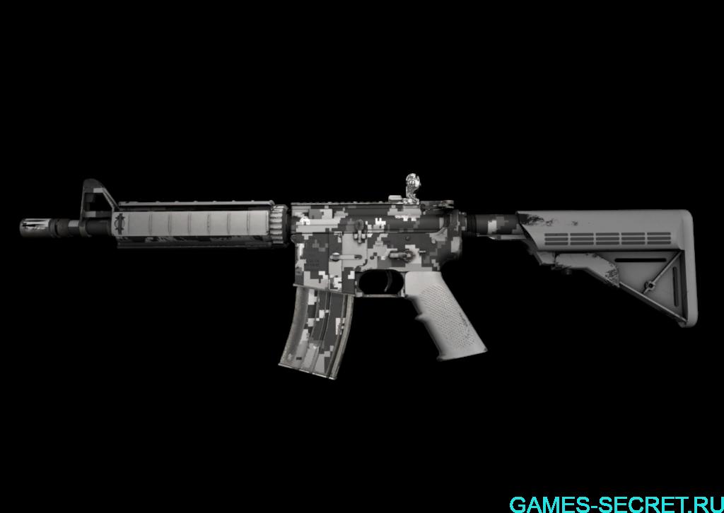 M4A4   Пиксельный камуфляж «Город» кс го