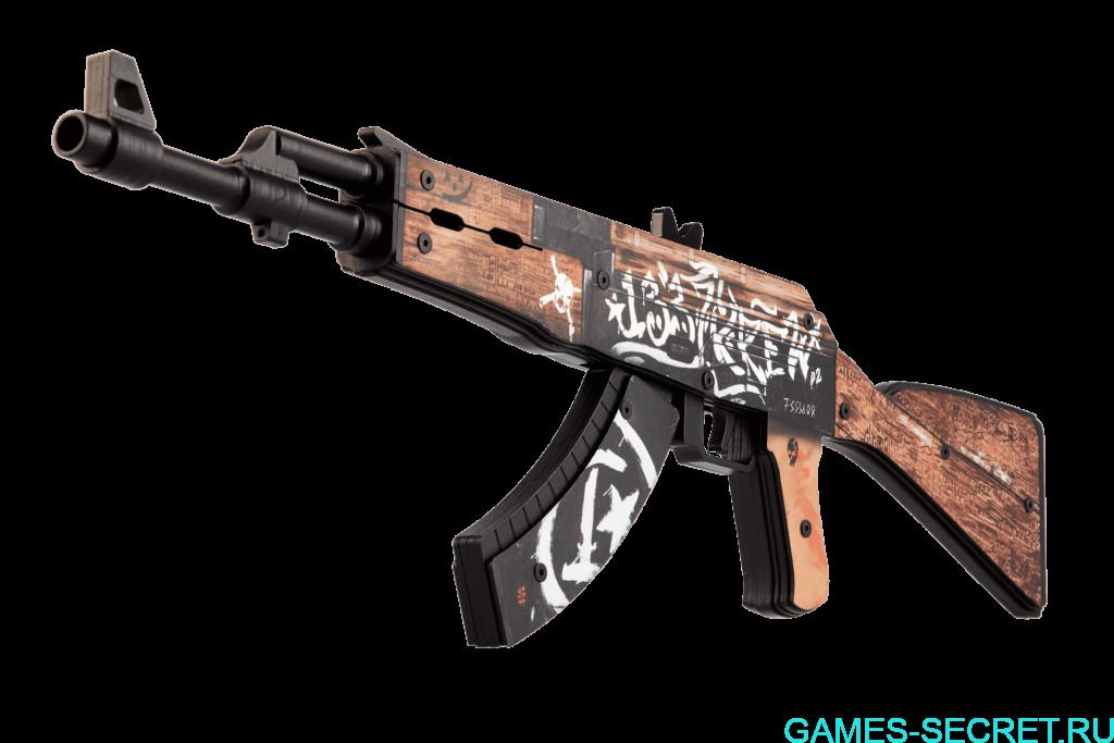 АК-47 пустынный повстанец CS:GO