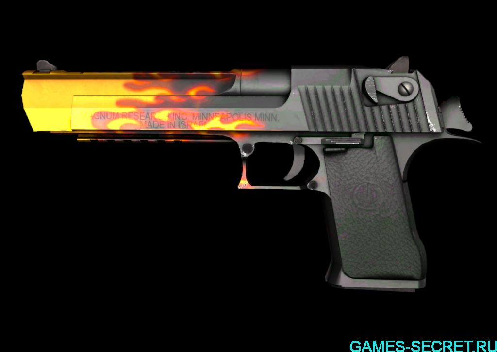 Desert Eagle Пламя CS:GO